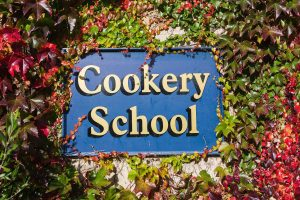 swinton park cookery school sign