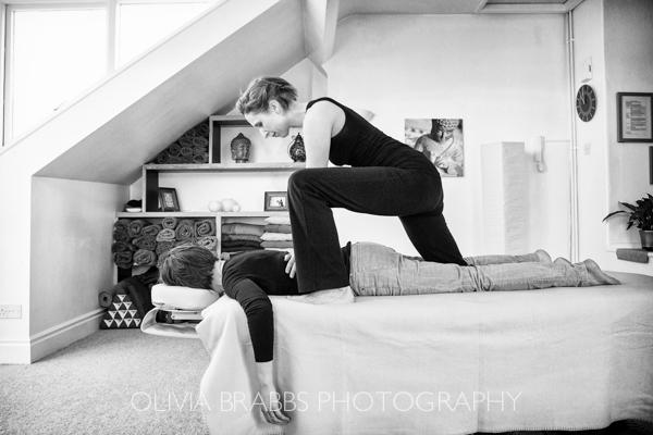 thai massage therapist Joe Bull treating a client in York