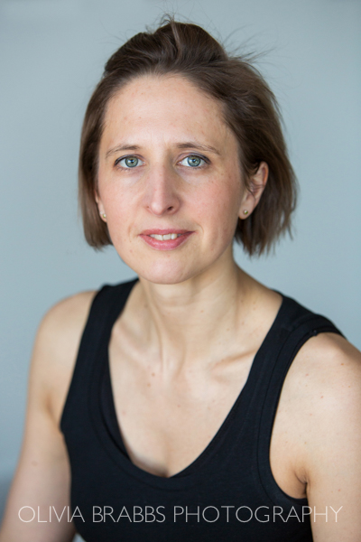 portrait of holistic practitioner for business website