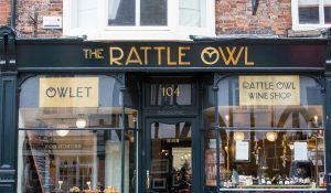 exterior view of the rattle owl restaurant york