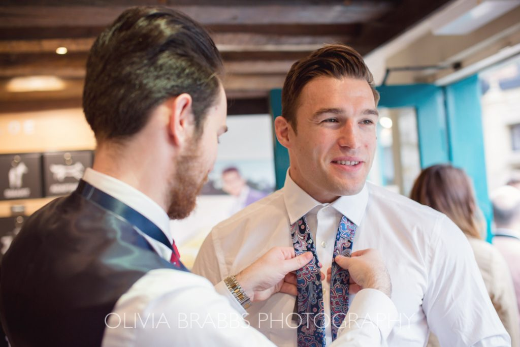 mens tailoring with paul costelloe tie at browns in york