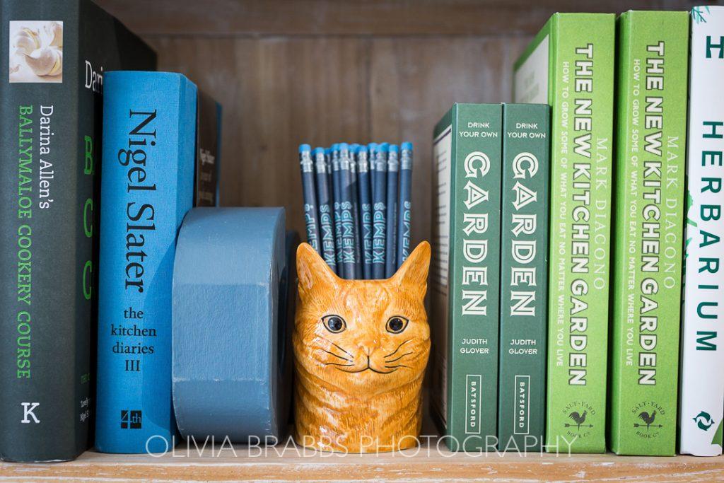 book shelf at kemps general store malton