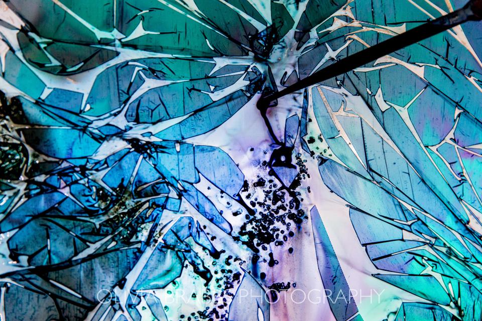 silk textile design in creation