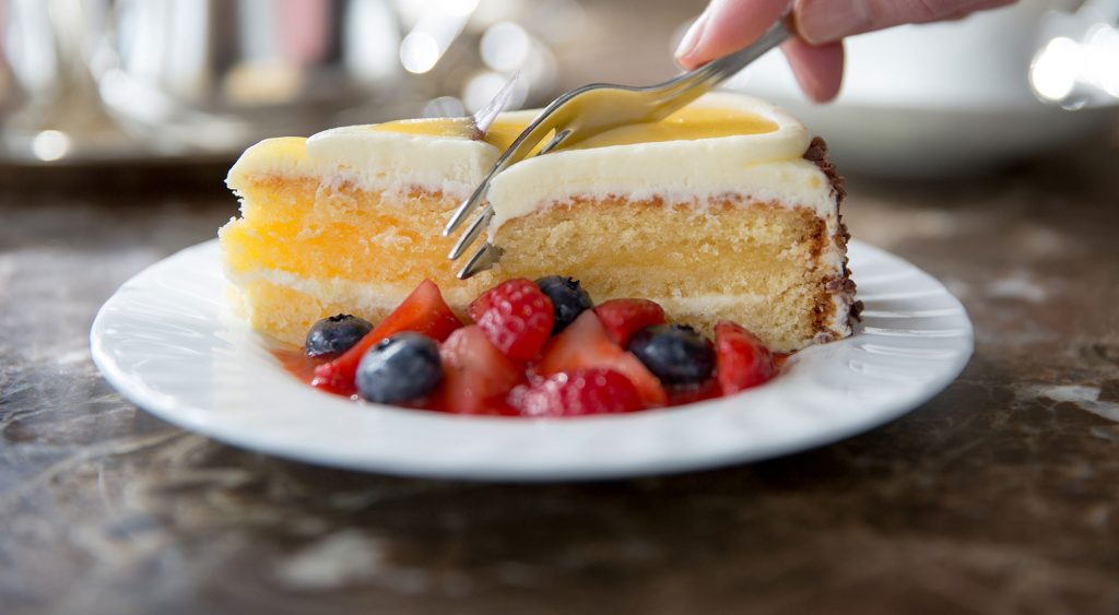 natural light food photography of cake by yorkshire photographer olivia brabbs