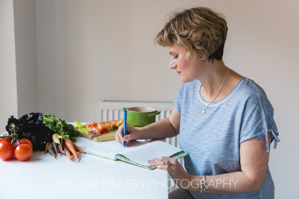 nutritionist at work