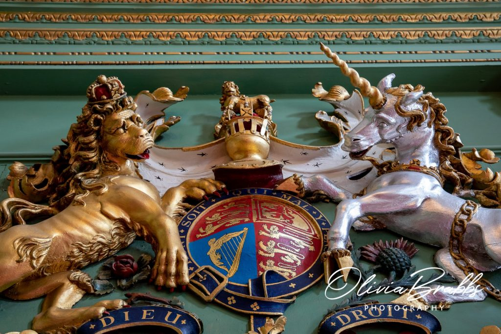 state room detail at york mansion house