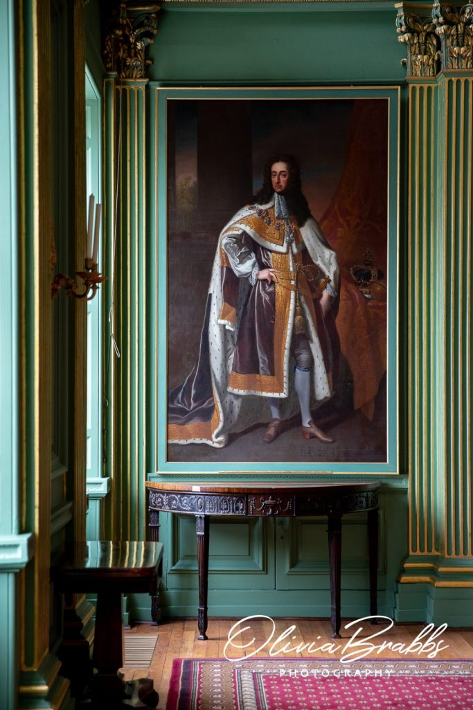 oil painting on display in the state room at york mansion house