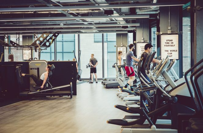 supersonic fitness york view of gym with people working out