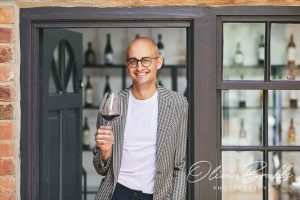 portrait of sommelier at the vices luxury hotel in York
