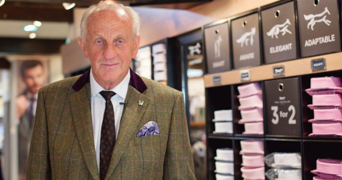 portrait of fashion designer paul costelloe